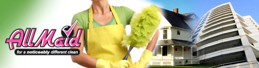All Maid Cleaning logo - Home and Business Cleaning Services - Kitchener, Waterloo, Cambridge, Burlington and Oakville